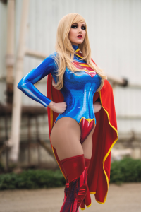 Angie Griffin as Supergirl