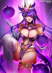 Syndra/Star Guardian from Badcompzero
