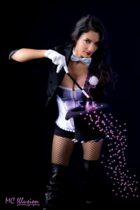 Ivy Cosplay as Zatanna