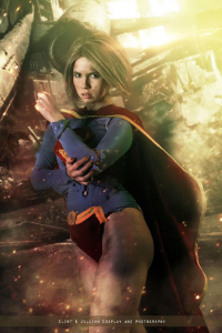 Florencia Jillian Sofen as Supergirl