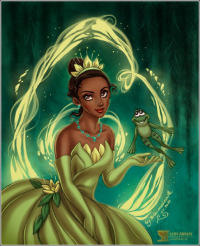 Princess Tiana from Daniel Kordek