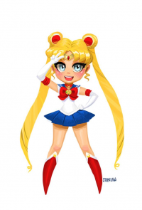 Sailor Moon from Stephlewart