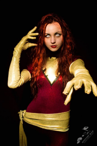 Don't Panic Cosplay as Dark Phoenix
