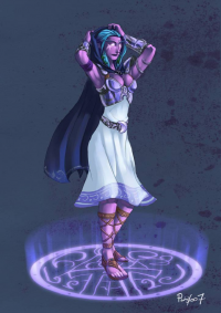 Tyrande Whisperwind from Pulyx