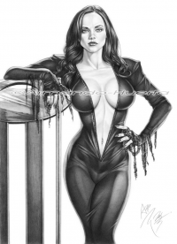Morticia Addams from Armando Huerta