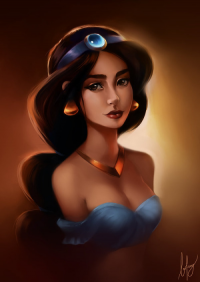 Princess Jasmine from Bo Feng Lin