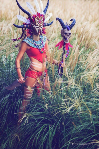 Andy Rae Cosplay as Witch Doctor