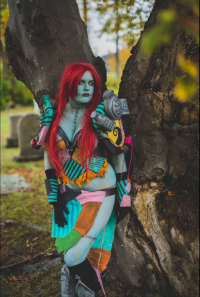 Lily Hunter Cosplay as Sally Skellington
