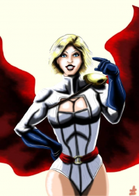 Power Girl von Adamantis