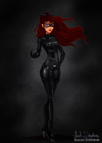 Megara/Catwoman from Isaiah Stephens