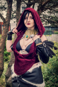 Dzerena's cosplay corner as Morrigan