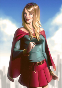 Supergirl from Leandrofranci