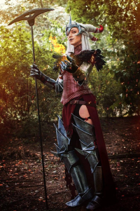 Red Chaos Cosplay as Flemeth