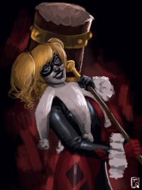 Harley Quinn from Alecia Doyley