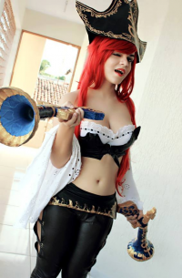 Glenda Aredhel as Miss Fortune