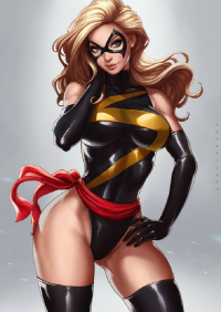 Ms. Marvel from Dandonfuga