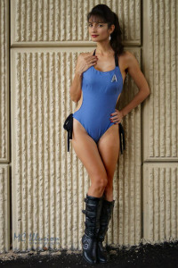 Ivy Cosplay as Starfleet Officer