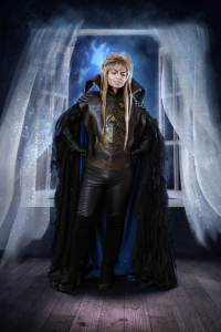 Ferasha Cosplay as Jareth The Goblin King