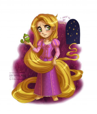 Princess Rapunzel from Daniel Kordek