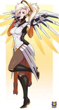 Mercy from Kyoffie Ilustrator