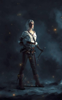 Fishy333 as Ciri