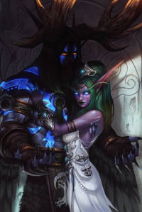 Malfurion Stormrage, Tyrande Whisperwind from Kim Tae Kyeong