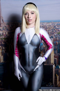 Ellie Christina as Spider Gwen
