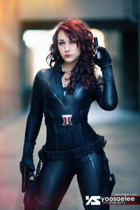 Aia Mari Cosplay as Black Widow