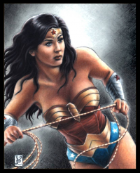 Wonder Woman from louissollune