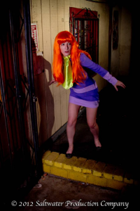 Mistress Zelda as Daphne Blake