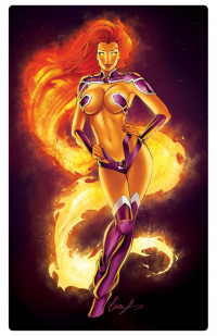 Starfire from Elias Chatzoudis