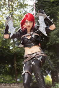Midlane Props and Cosplay as Katarina