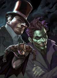 Batman, Penguin, The Joker from Alexandr Pascenko