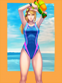 Samus Aran from Bellhenge