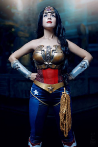 Paola Rojas as Wonder Woman