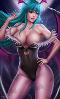 Morrigan Aensland from Flowerxl