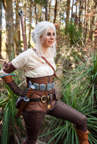 Blue Rose Cosplay as Ciri