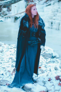 Odfel Cosplay as Sansa Stark