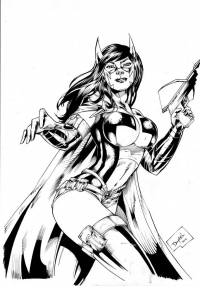 Huntress from DanOliveira