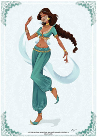 Princess Jasmine from AzureOcean