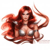 Red Sonja from Daniel Kordek