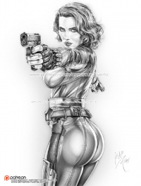 Black Widow from Armando Huerta
