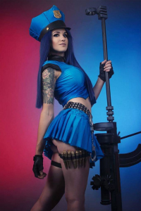Justine Kosuplay as Caitlyn/Officer