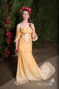 Aly Cat Cosplay as Belle
