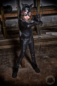 Our Cosplay Princess as Catwoman