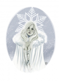 Emma Frost from Valentina Pinto