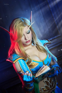 Natasha Firsakova as Blood Elf/Mage