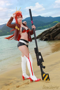 Adami Langley as Yoko Rittonā