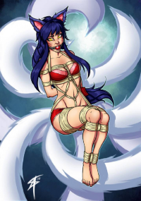 Ahri from Sneakattack1221 )