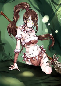 Nidalee from Relax 絵